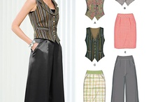Clothes patterns / by Nora Seamster
