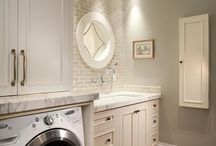 Laundry Room - Mud Room / Great space design for #laundry - #mudrooms, #storage solutions -