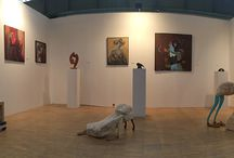 Art Market Budapest 2014 G409 / Artworks presented by our gallery on the Art Market Budapest Fair.