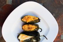 [ Jalapeno Poppers and Stuffed Chili Peppers ] / All jalapeno poppers or creatively stuffed chili peppers. Cheese stuffed jalapeno poppers, Stuffed peppers, bacon wrapped poppers and much more.
