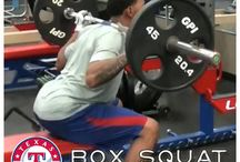 #RangersWorkouts / Work out like the Rangers