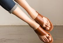 Leather shoes for women / Vintage leather cool women shoes summer single shoes