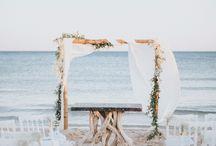 Beach wedding by Dodia