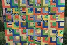 Quarter Log Cabin Quilts