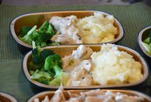 Homemade frozen dinners / by Arlene Dolphy