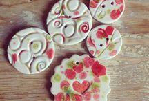 boutons céramiques