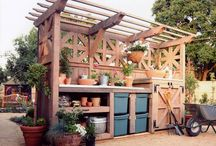 Potting Tables / by Historic Shed
