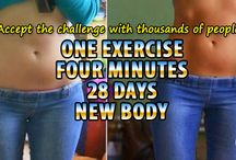 One Exercise, Four Minutes Daily, 30 Days, New Body
