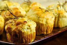 Bol peynirli muffin