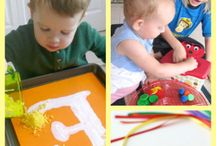 Nannytime Education and Crafts / Thought we could use this board for fun crafts and educational activities for the boys….
