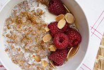Granola, Porridge, and Other Grain Breakfasts