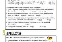 School--- Afrikaans