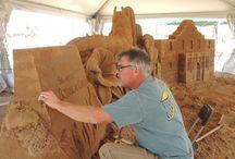 Sand Sculptures / Spring Break exhibit at the San Antonio Botanical Garden / by San Antonio Botanical Garden