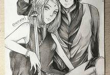 Sakura and sasuke^^