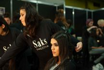Backstage at Saks / Backstage at The Clothes Show ALCATEL Onetouch Fashion Theatre!