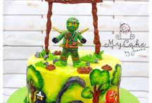 Lego cakes / Lego theme cake, ninjago