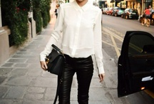 In love with...leather pants