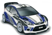 Ford Fiesta WRC Project / Project realized for the presentation of the car of Robert Kubica in the WRC *Reference Images