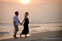 sesion embarazada playa