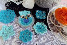 Rocreanique -Crochet embellishments / unique handmade crochet embellishments from my Etsy shop Rocreanique:  https://www.etsy.com/shop/Rocreanique