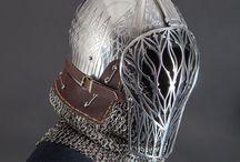 Medieval Helmet Visor