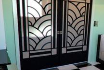 Apartment furnishing / Double interior doors plus mirrors