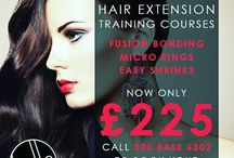 Hair Extension Courses / All the latest dates for our hair extension courses!