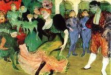 art: Henri de Toulouse-Lautrec / by Lana Housewright
