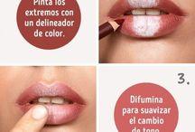 Make up - labios