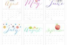 Ausdruckbare Kalender