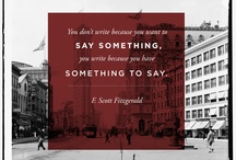 F. Scott Fitzgerald  / by Lauren Ruettinger