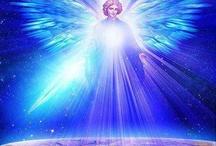 Mytische figuren / Voel me altijd aangetrokken tot mooie tekeningen van engelen en mythische figuren. H