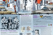 Historical anniversaries infographics / Infographic about the Berlin Wall