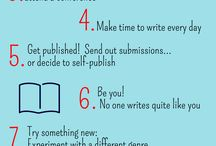 Writing Tips! / All of our favourite writing tips in one place!