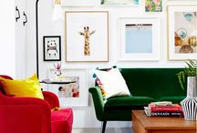 a place to sit {living room} / by Emily Schulze