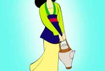 Disney Princesas. Mulan