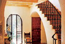 Spanish colonial/ moorish kitchen