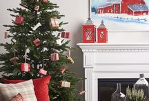 Holiday Decorating & Fireplace Mantle Ideas