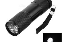 LED Flashlights AAA / Фонарики на батарейках AAA / Flashlights / Фонарики. AAA, LR03, R03, 286, Micro, в просторечии «мизинчиковая».