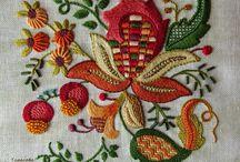Якобинская вышивка