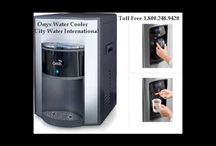 City Water International Products / The most innovative product of City Water International is the point of use bottle less water cooler that comes in stylish, contemporary design, stainless steel front panel and programmable energy saver mode. The cooler is energy rated and come with free life time service warranty. http://cityh2o.com/products/