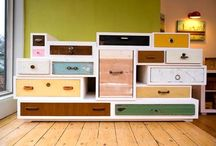 recyled - repurposed - reused- home / Ideas for our home.