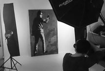 Behind the scenes - Shooting / Photoshooting für JNS-Art