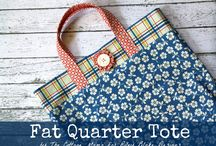 Sewing - bags/fat quarters