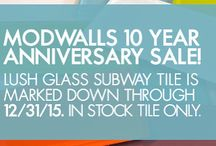 Subway Tile / Glass and Ceramic Subway Tile in All Its Glory / by Modwalls Tile