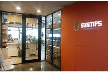 SUNTIPS Cafe - Bucheon, South Korea / SUNTIPS teas and various innovative tea creations can now be enjoyed by the ever growing tea loving community in South Korea. Also the perfect place to sharpen you tea tasting skills!