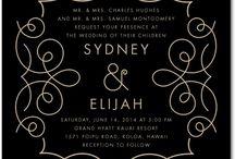 Invitations / Graphics and invitations