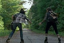 the walking dead / WALKING DEAD Daryl  Glenn Rick Carl Maggie Michonne Carol Shane  Beth  Lori Andrea  Merle  Sasha☁  Tayreese Judith Kormanyzo