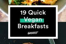 Vegan food ideas
