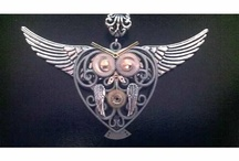 Steampunk Jewelry I made! / This is my board for the Jewelry I made only! / by Sicily Tatchell